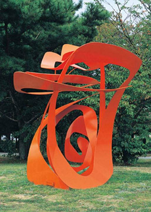 1.Redefining Space Steel Steel Paint H10ftx 44FT 2009 - $50,000
