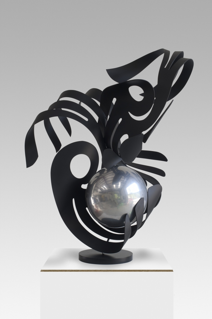 Black with Ball
